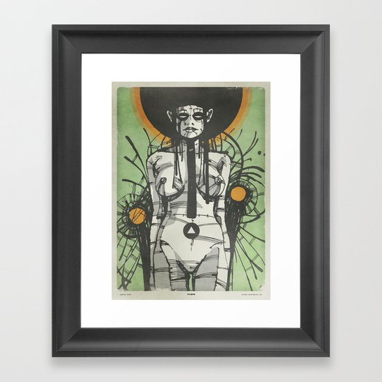 Nymph (Ext) Framed Art Print