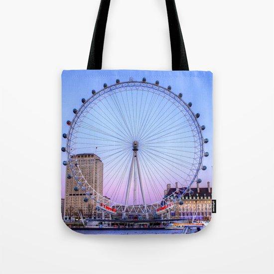 The London Eye, London Tote Bag