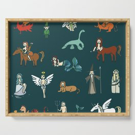Creatures Serving Tray