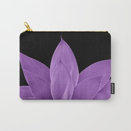 Purple Agave #1 #tropical #decor #art #society6 Carry-All Pouch