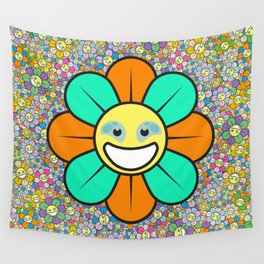 SUPER FLOWER POWER Wall Tapestry