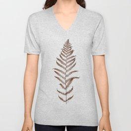 Delicate fern Unisex V-Neck