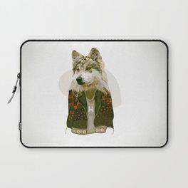wolf jacket Laptop Sleeve