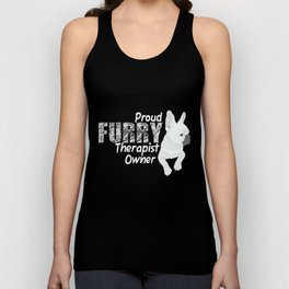 Furry Therapist Owner | Dog Therapy Unisex Tank Top