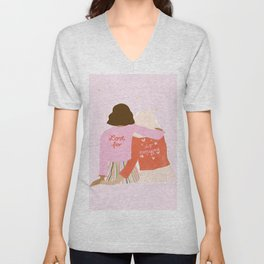 Love Is For Everyone Unisex V-Neck