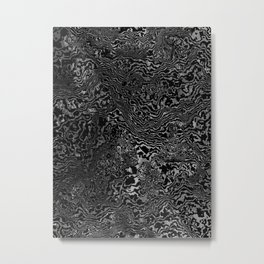 monomarble Metal Print