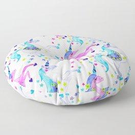 Pastel Unicorns Floor Pillow