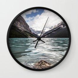 Landscape Lake Louise Wall Clock