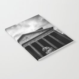 Clouds Over The Pantheon Notebook