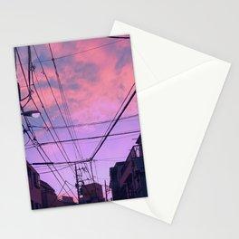 Anime Sunrise Stationery Cards
