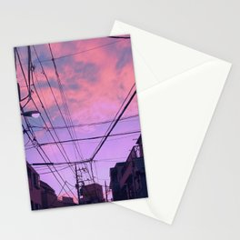 Anime Sunrise Stationery Cards