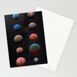 Planets : Hot Jupiter Exoplanets Stationery Cards