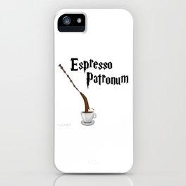 Espresso Patronum design iPhone Case