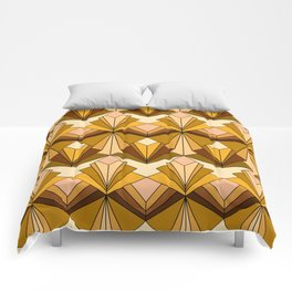 Art Deco meets the 70s Comforters