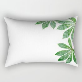 Tropical Background 03 Rectangular Pillow