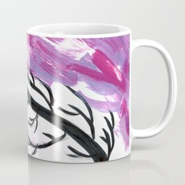 Plant in Pink Coffee Mug