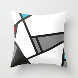 Abstract01 Throw Pillow