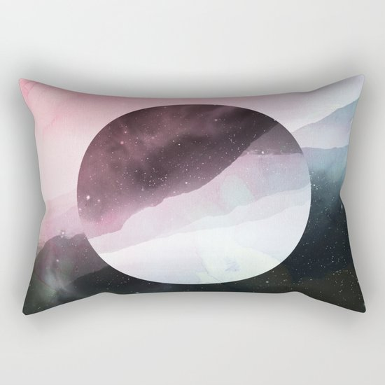 Serenity in Rose Rectangular Pillow