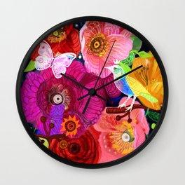 Wild spring Wall Clock