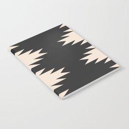 Minimal Southwestern - Charcoal Notebook