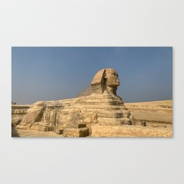 Egypt - Great Sphinx of Giza Canvas Print