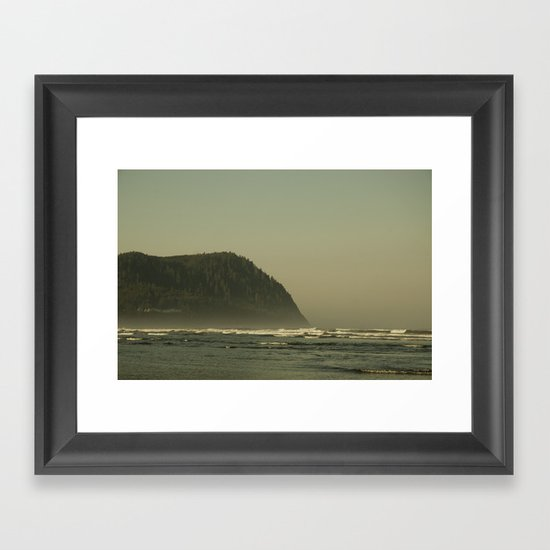 The Oregon Coast Framed Art Print