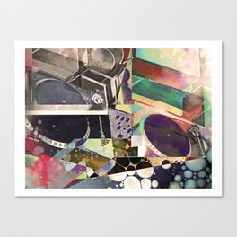 Psychedelic Music Canvas Print