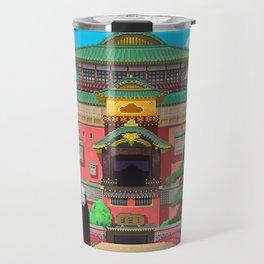 Spirited Away - Pixel Art Travel Mug