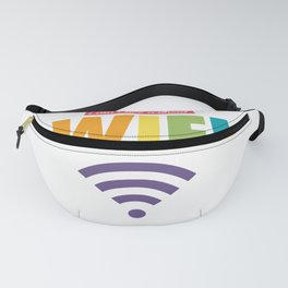 I CAN'T LIVE WITHOUT WIFI Fanny Pack