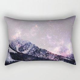 Winter howl Rectangular Pillow
