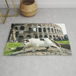 The Cat of the Colosseum Rug