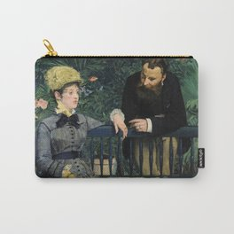 Edouard Manet - In the Conservatory Carry-All Pouch