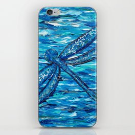 Blue Dragonfly 2 iPhone Skin