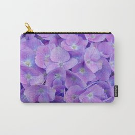 Hydrangea lilac Carry-All Pouch