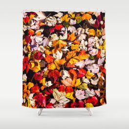 Leaves Galore Shower Curtain