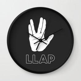 LLAP Wall Clock