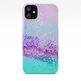 Unicorn Girls Glitter #14 #shiny #decor #art #society6 iPhone Case