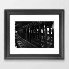 59th Street Subway Station No. 2 Framed Art Print