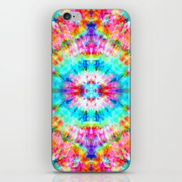 Rainbow Sunburst iPhone Skin