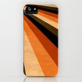 Autumn Stripes iPhone Case