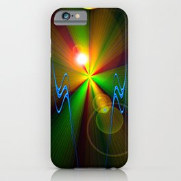 Light show 3 iPhone Case