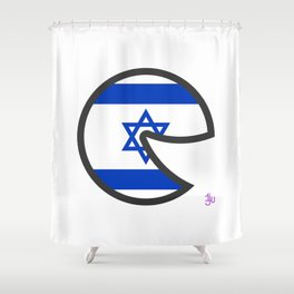 Israel Smile Shower Curtain