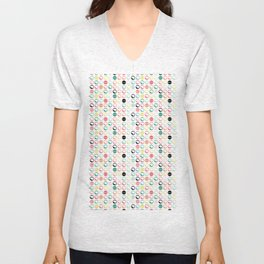 Brain Dots Unisex V-Neck