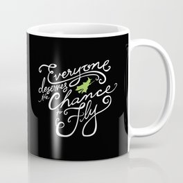 Everyone Deserves the Chance to Fly // Defying Gravity // Wicked Coffee Mug