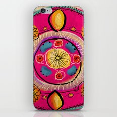 Happy Mandala iPhone & iPod Skin