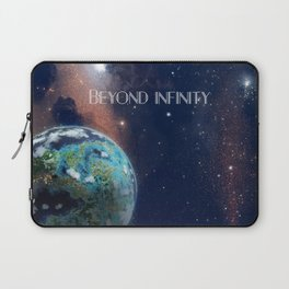 Beyond Infinity | Vacation Planet Laptop Sleeve