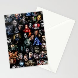 Legends of Horror print Stationery Cards