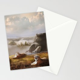 Endangered Siberian Tigers Stationery Cards