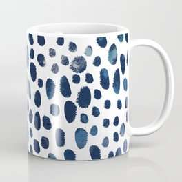 Blue Watercolour Spots Coffee Mug