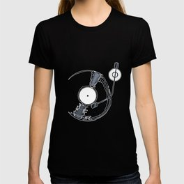 Record Deck Background T-shirt